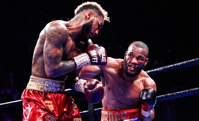 Julian Williams Lands a Right Hand Photo: Stephanie Trapp