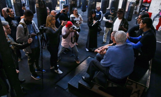 Boxing: Daniel Roman Media Workout