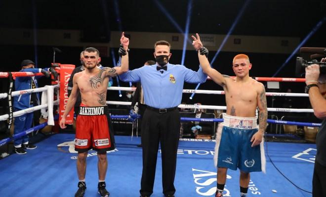 Jospeh Diaz Jr Draws with Shavktdzhon Rakhimov