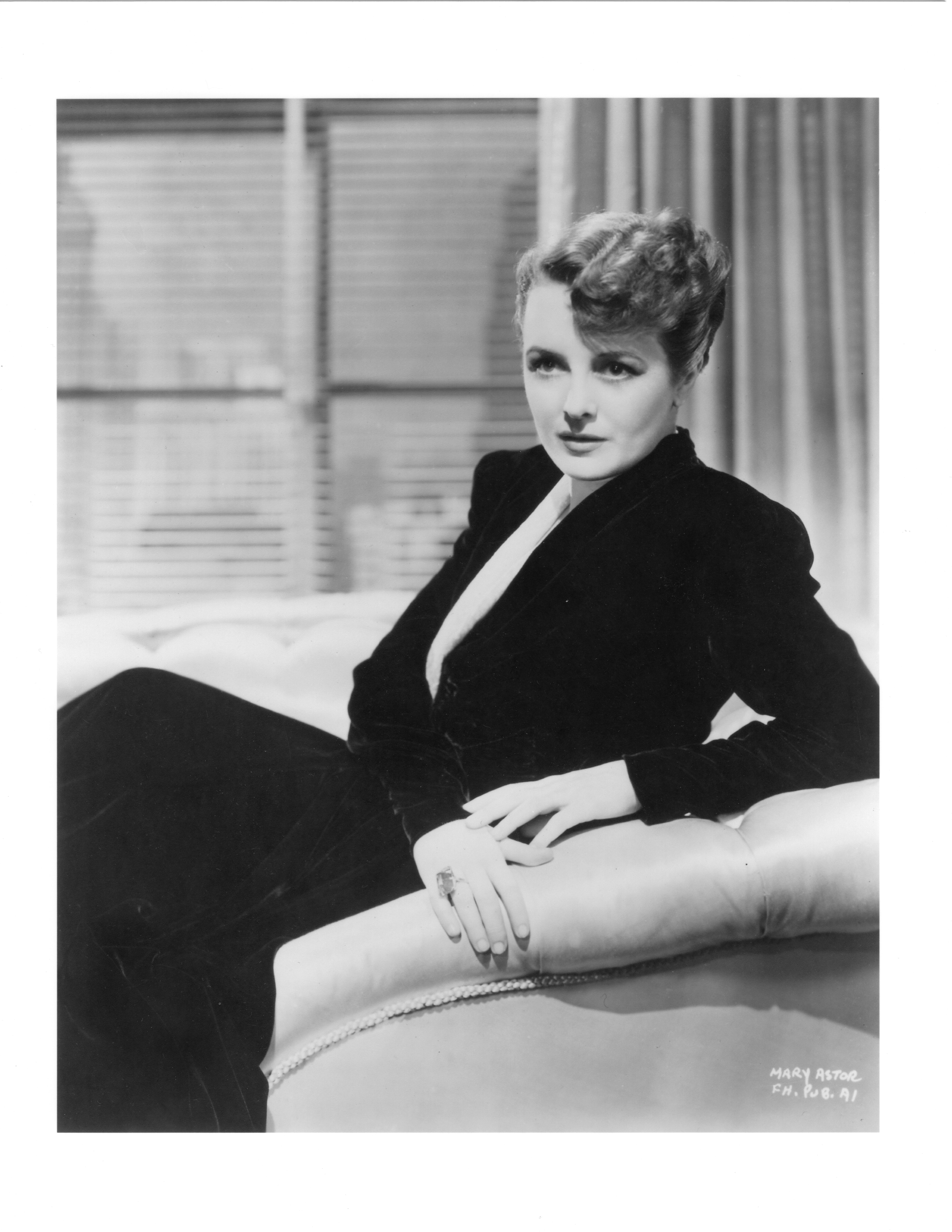 Mary Astor/Courtesy of the Academy of Motion Picture Arts and Sciences