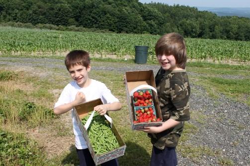 Boys_Lawrence Farms