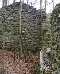 stone home old sugarlands trail smokies - 1