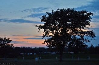 Sunset at Oppenheim County Park