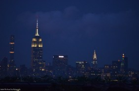 Empire State Building and Chrysler Building