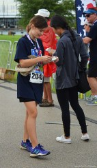 After the run, the energy bar tastes even better.
