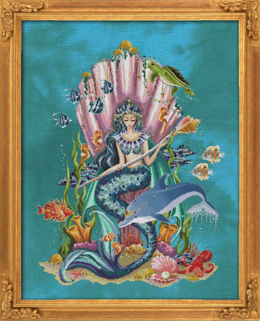 Amphitrite, Queen Goddess of the Sea by Bella Filipina Designs