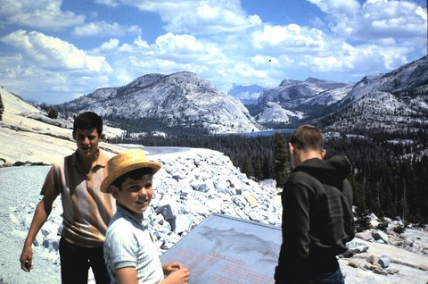 Mark & Todd Yosemite c 1961