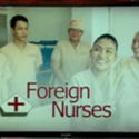 foreign nurses in scrubs