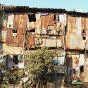Photo of the slums of India