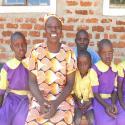 Kenyan women and children