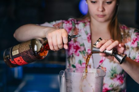 Ashley Cibor, Bartender at UnderTow