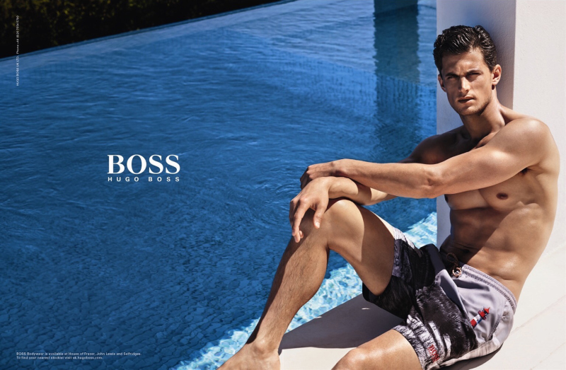 hugo boss mens swim
