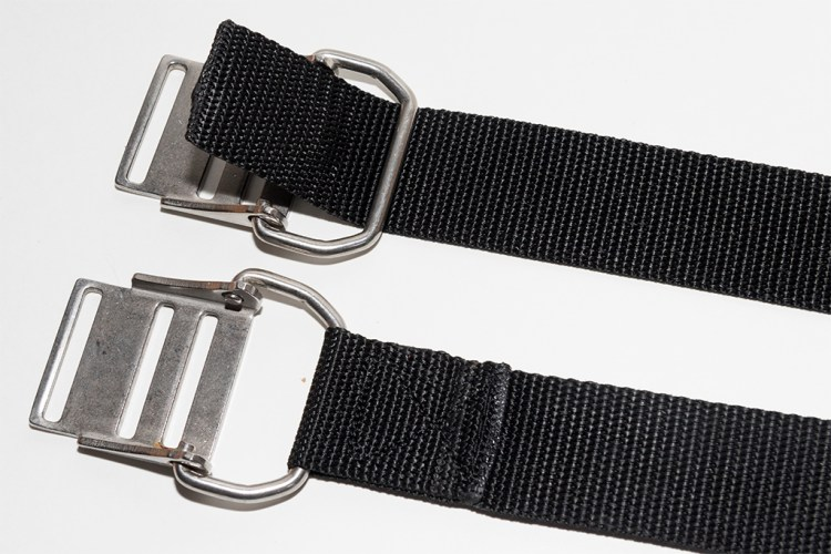 Dive Rite's Low Profile Cylinder Straps
