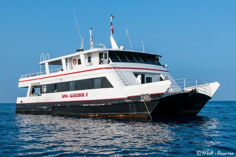 Kona Aggressor II is Hawaii's only premiere live-aboard dive yacht.