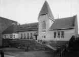 Wivi Lönn - Valter Jung - Emil Fabritius- Oikokatu Escuela Primaria, Helsinki 1905