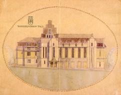 Wivi Lönn, Proyecto de Tampere VPK propuesta competitiva, 1908