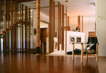 Aino Aalto y Alvar Aalto, Villa Mairea, interior