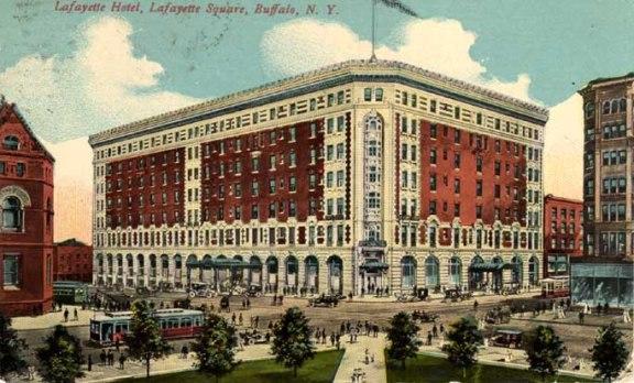 Louise Blanchard Bethune, Hotel Lafayette, Buffalo, N.Y