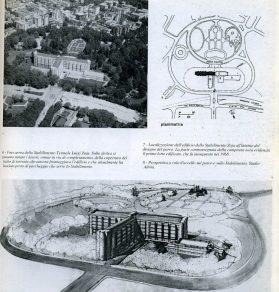 Franca Helg. Nuevo edificio en las Termas de Luigi Zoja de Salsomaggiore, Parma. 1967.