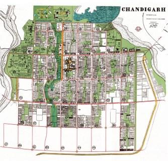 Le Corbusier, Pierre Jeanneret, Jane Drew y Maxwell Fry, Chandigarh