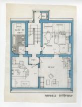 Dita Roque-Gourary, Residencia Perelman, Bruselas, 1970