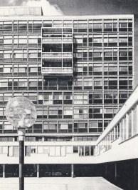 Léonie Geisendorf, Colegio St. Görans.1961