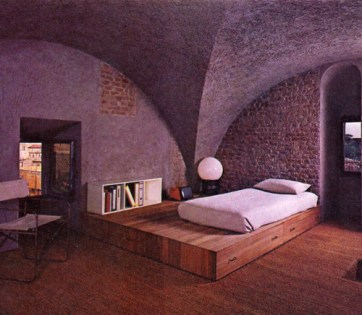 Gae Aulenti, Apartamento en Roma 1970
