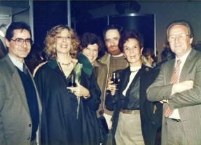 Martha Levisman, Exposición de Bustillo, Museo Nacional de Belllas Artes, 1988