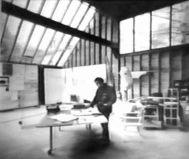 Phyllis Birkby, estudio de un escultor, Long Island