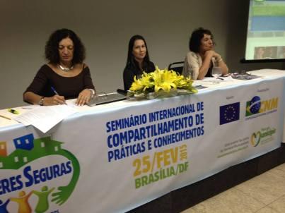 Ana Falú, Seminario Internacional de compartilhamento de práticas e conhecimentos