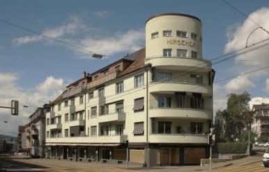 Marianne Burkhalter + Christian Sumi - Restauración de bloque de vivienda años 30, Hirsehof, 2011-2012