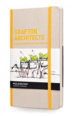 "Moleskine Inspiration and Process Grafton Architects Moleskine, 2014 - serie ""Inspiration and process in architecture"""
