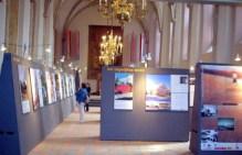 """Cristina García-Rosales, Exposición de """"La Mujer Construye"""", Catedral de Utrecht, Holanda, 2007"""
