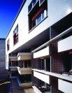 Édith Girard. Fachadas, Vivienda Social en 55-60 rue des Vignoles, ZAC de la Réunion, Paris 20e, Francia, 1994-1996