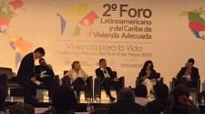 Ana Falú, 2º Foro Latinoamericano y del Caribe de Vivienda Adecuada