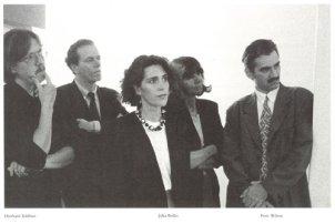 Julia Bolles y Peter Wilson