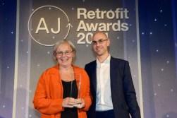 Barbara Weiss, Wokingham Medical Centre AJ Retrofit Healthcare winner 2014.