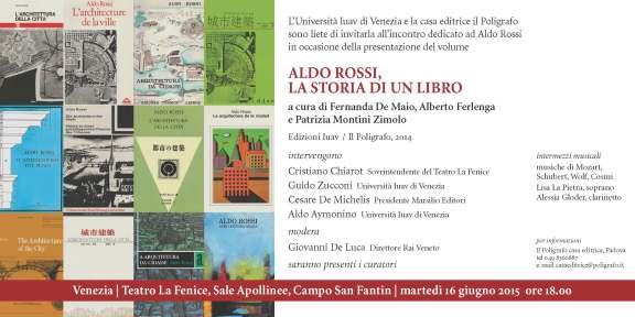Patrizia Montini, Aldo Rossi La storia di un libro