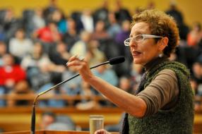 Raquel Rolnik. Cámara Municipal de Porto Alegre