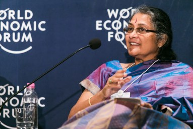 Sheila Sri Prakash - World Economic Forum in India