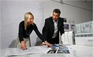 Lise Anne Couture y Hani Rashid