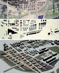 María Rubert de Ventós; Estudios sobre propuestas de desarrollo urbano en el ámbito Besós-Mar. Unidad residencial Llul-Taulat, 1999