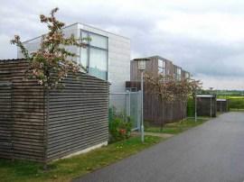 Lene Tranberg, Vonsild - Solar Row Houses, Kolding, Dinamarca, 2008 Lundgaard & Tranberg Arkitekter