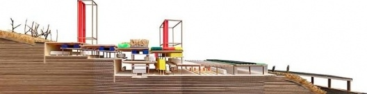 Judith Leclerc, Coll-Leclerc Arquitectos. Proyecto original para el Parque sobre cochera de Horta, 2000