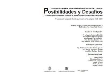 Mariela Marchisio, dir. Gestión Sustentable en la Universidad Nacional de Córdoba
