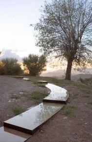 "Carmen Moreno Álvarez. ""Vuelta de paseo"", intervención en el paisaje."