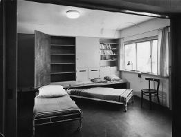 Margarete Schütte-Lihotzky, habitación para mujeres solteras