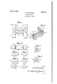 Anna Wagner Keichline, ladrillo K, patente, 1927