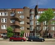 Margaret Kropholler-Staal. Edificio de Viviendas en Holendrechstraat, Amsterdam 1921