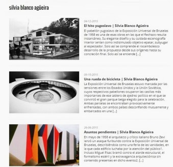 Silvia Blanco. Escritos.